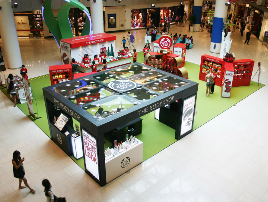 Body Shop Event Activation