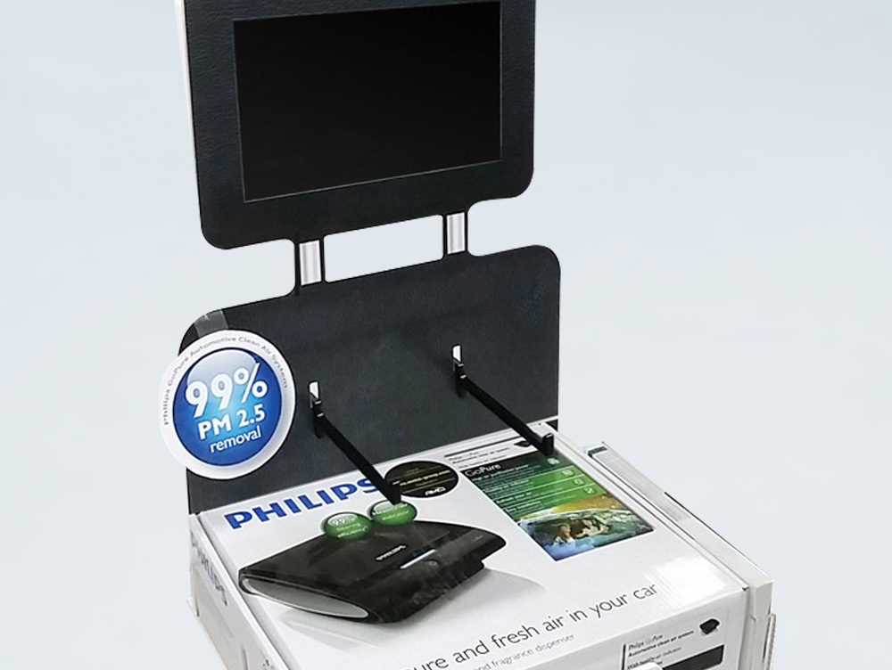 Philips GoPure Counter Top Display