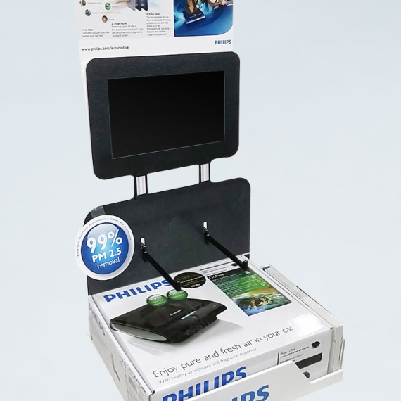 : : COUNTERTOP DISPLAY : : Philips GoPure Countertop Display