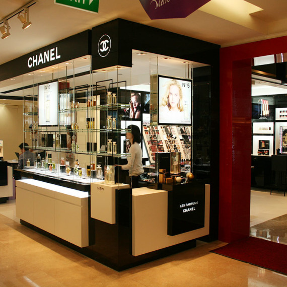 : : RETAIL FIT-OUT : : Chanel Metro Paragon Singapore