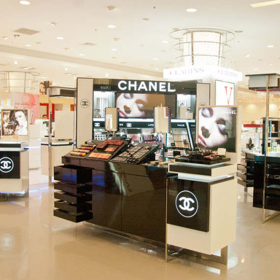 : : COUNTERTOP DISPLAY : : Chanel Countertop Display