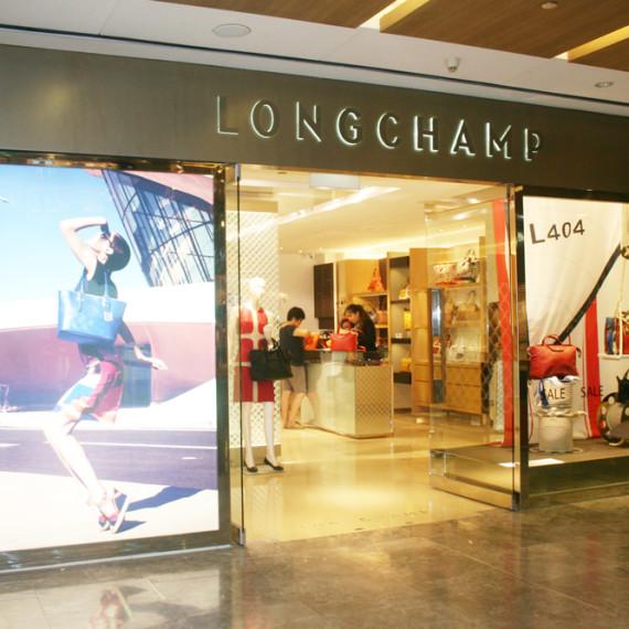 : : RETAIL FIT-OUT : : Longchamp Paragon Singapore