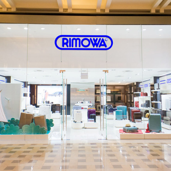 : : RETAIL FIT-OUT : : Rimowa Marina Bay Sands Singapore