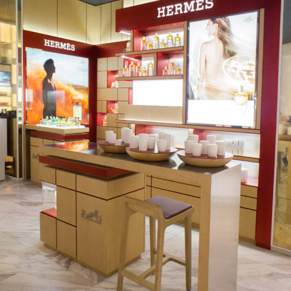 : : RETAIL FIT-OUT : : Hermes Robinson Orchard Singapore